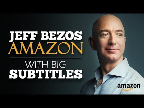 ENGLISH SPEECH | JEFF BEZOS: What Will You Be? (English Subtitles)