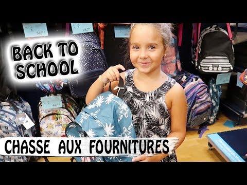 CHASSE AUX FOURNITURES SCOLAIRES / Back to School de Jen