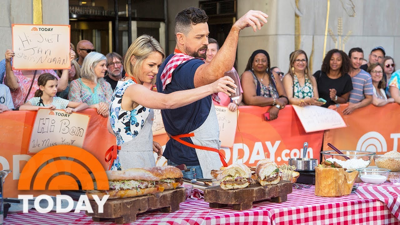 Ryan Scott's Father's Day Menu: Brisket Sandwich, Marshmallow Squares, Mint Cooler | TODAY