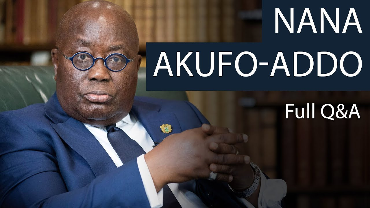 President Nana Akufo-Addo | Full Q&A | Oxford Union