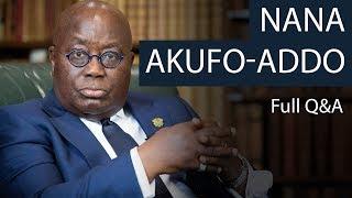 President Nana Akufo-Addo | Full Q&A | Oxford Union