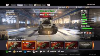 kv 1s review and news of where i ve been   world of tanks xbox one ed