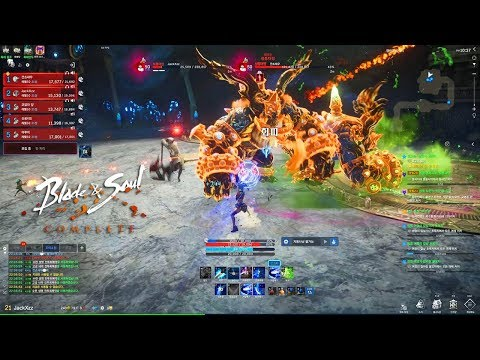 Blade And Soul Complete - 21 Star Dungeons Blade Master Party Gameplay - UE4 2020