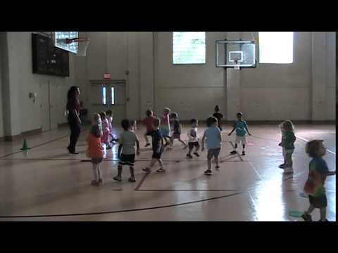 Jumping and Landing lesson in Elementary Physical Education