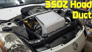 homepage tile video photo for Nissan 350Z Hood Duct