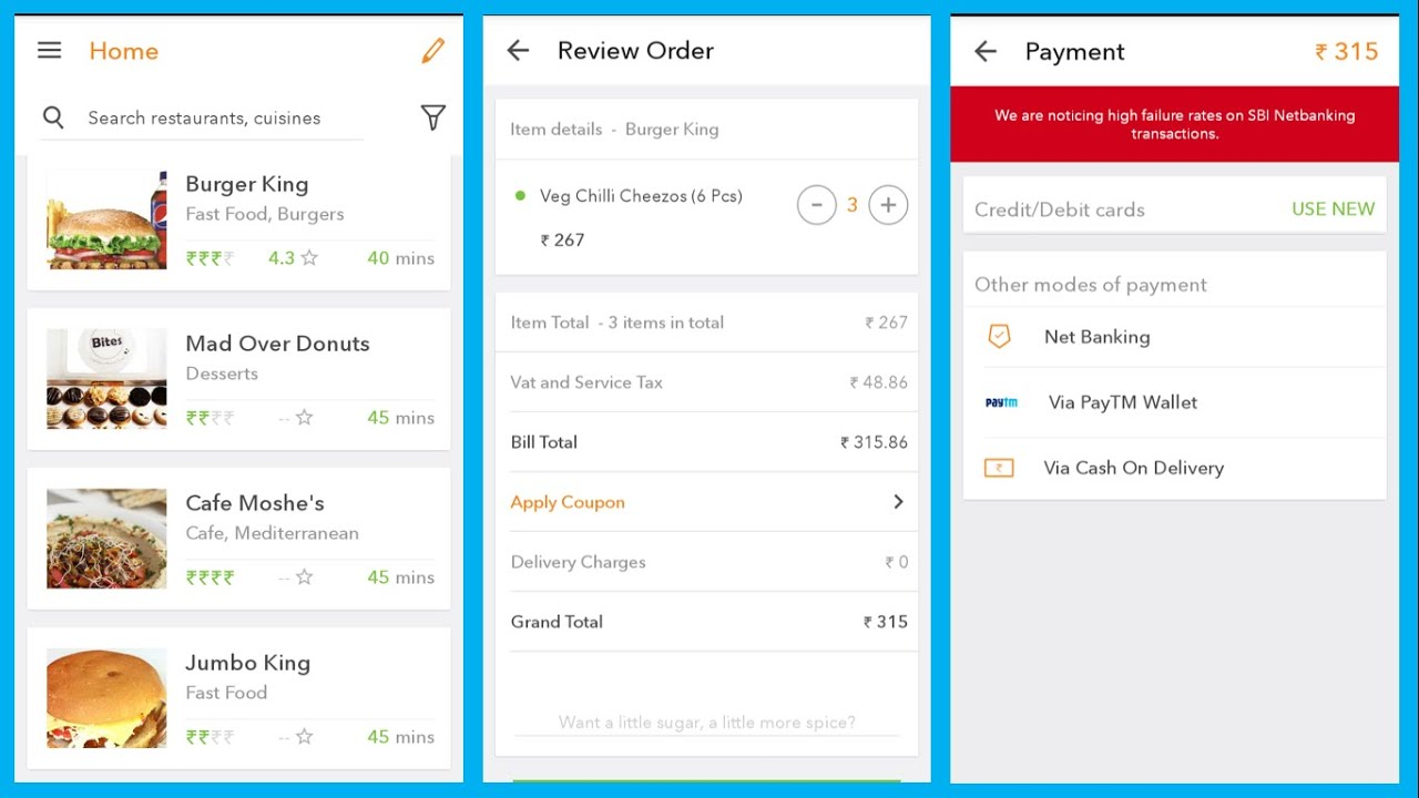 Order Food Free Delivery