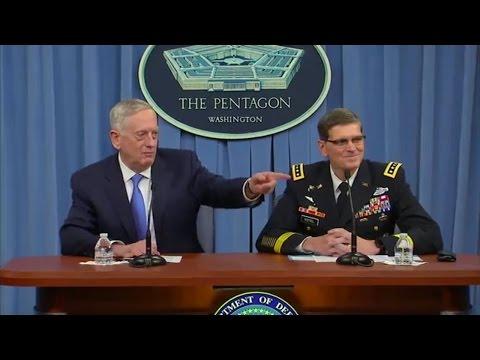 Fox News - Defense Secretary James Mattis On The Record - Syria - 11/04/2017