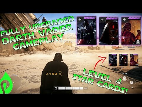 Star Wars Battlefront 2: Fully Upgraded Darth Vader Gameplay/Streak!!!