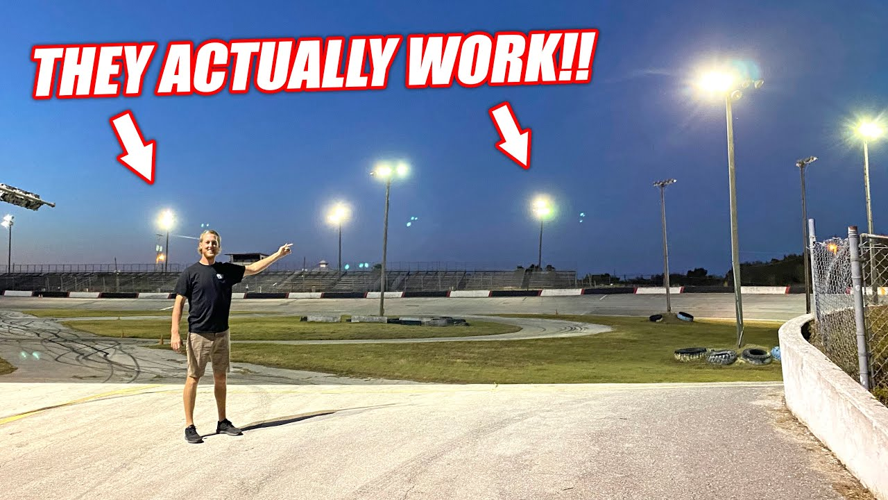 Restoring Power to our Abandoned Speedway After TWO YEARS in the Dark! (Freedom Factory)