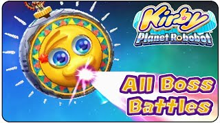 Kirby Planet Robobot All Bosses