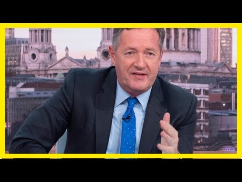 Breaking News | Piers Morgan told to 'show a little respect' after backlash over tweet