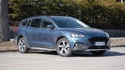 Koeajossa uusi Ford Focus Active Wagon (Teknavi 2019)