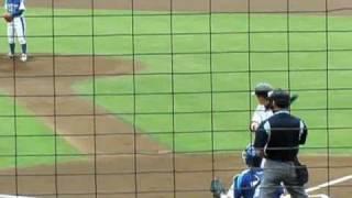 西崎選手の動画見つかったので改訂版をアップします。神戸9Cの投手陣を...