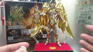 4am - Bandai Saint Seiya Myth Cloth EX Capricorn God Cloth Review
