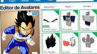 We created the VEGETA PROFILE in ROBLOX !! | Rovi23 Roblox