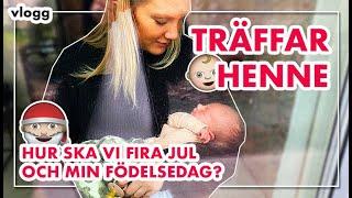 TRÄFFAR BEBISEN! Vlogg