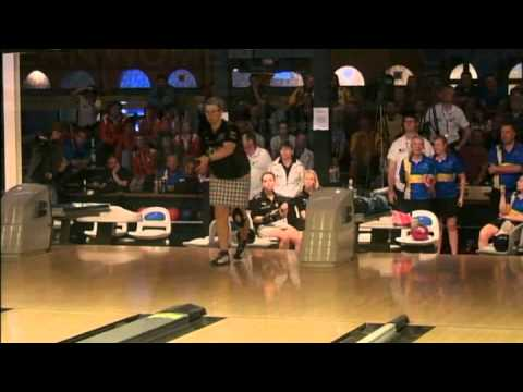 Bowling European women championship 2012 trio's final Sweden vs. Germany