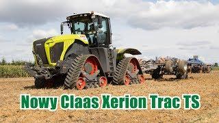 Nowy Claas na gąsienicach - Xerion Trac TS - raport z jazdy