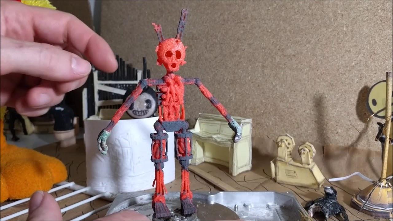 Springtrap FNAF 3D Print Teaser: A Dead Red Purple Guy