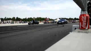 800hp Nissan GTR vs Tesla P85D Power no bullshit! 2015
