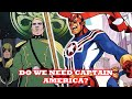 MARVEL COMIC'S SECRET EMPIRE COMIC BOOK HOW TO MAKE CAPTAIN AMERICA HATED & FIGHTING AMERICAN LIKED
