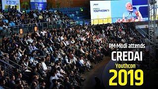PM Modi attends CREDAI Youthcon-2019