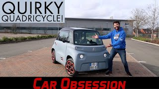Citroen Ami First Drive: A Very Quirky Quadricycle!
