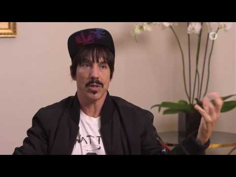 Red Hot Chili Peppers-Sänger Anthony Kiedis im Gespräch