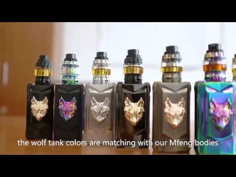 snowwolf mfeng kit especially introduction of the wolf tank youtube