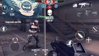 Modern Combat 4 Jugando Control de Zona Comentario En Español Gameplay HD
