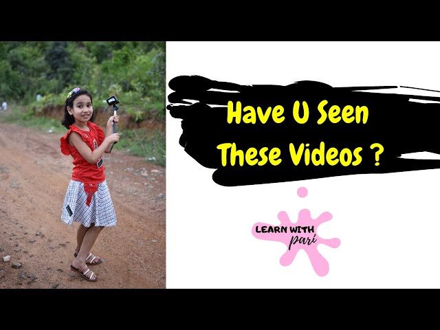 Have you seen ?  @Learn With Pari