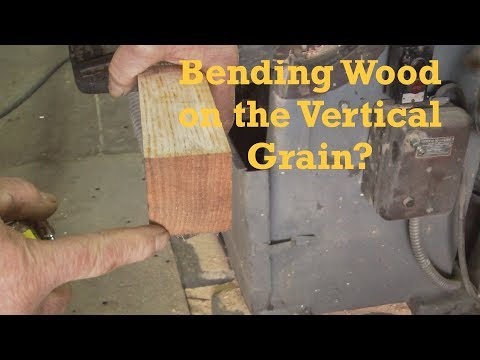 Heavy Steam Bending Wood, Vertical Grain Oak