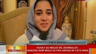Saudi Arabian journalist, napaiyak nang makita ang hinahanap na pinay yaya matapos ang 22 taon
