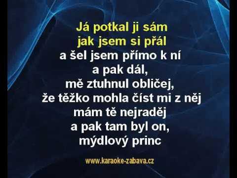 Mýdlový princ - Václav Neckář Karaoke tip