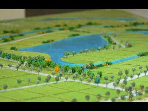 Estudio ceriana paisajes de maqueta de club de campo youtube - Paisajes de casas de campo ...