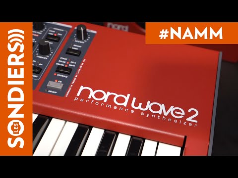 [NAMM2020] NORD WAVE 2
