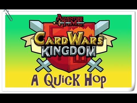 Card Wars Kingdom - A Quick Hop
