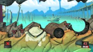Lets Play Worms Revolution Part 1 PS3 HD