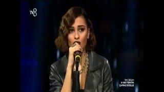 Emre Sertkaya sevgilisi ile rakip oldu Buse Gül O Ses Türkiye Şok