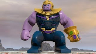 LEGO Marvel Super Heroes 2 - Thanos - Open World Free Roam Gameplay (PC HD) [1080p60FPS]
