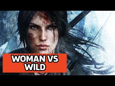 Rise of the Tomb Raider - Woman vs Wild Episode 4: Croft Manor