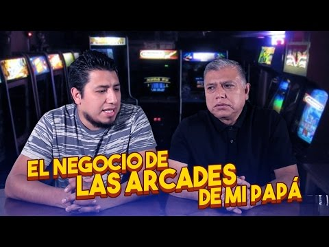 ¿Como funcionaba el negocio de las arcades?Las arcades de mi papá