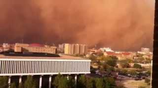 "2011 Lubbock dust storm ""haboob""  (full video)"