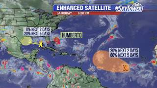 Tropical weather forecast #2: September 14, 2019
