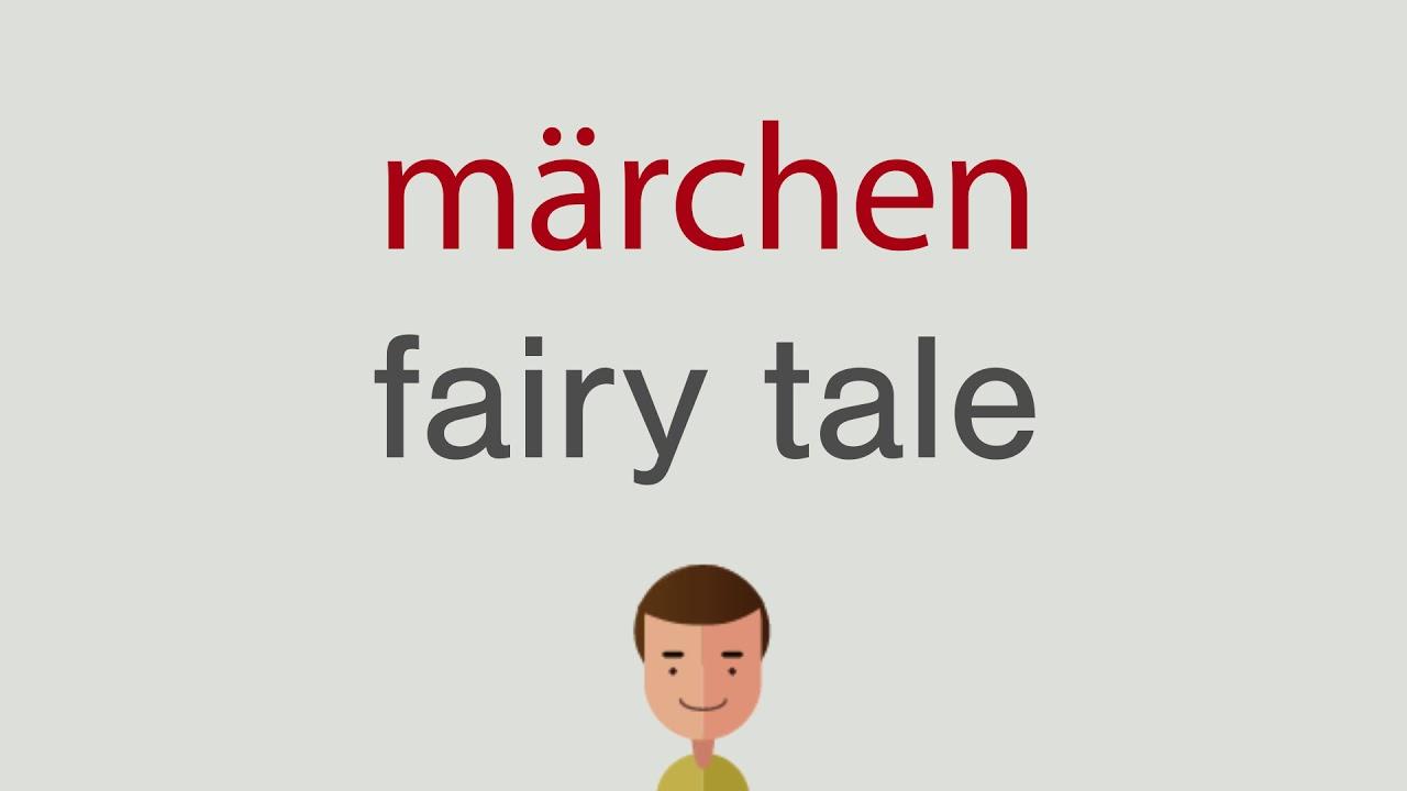 Wie heißt märchen auf englisch - YouTube