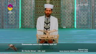 TRT DİYANET - İmam ve Kıraat / 67.Bölüm - Mehmet Yazar / Bursa Ataevler Edabali Camii İmam Hatibi