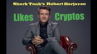 Shark Tank Investor Robert Herjavec likes Cryptocurrencies
