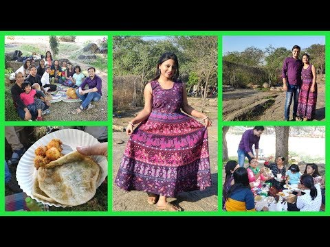 Happy New Year 2019 | Bengali Family Picnic | Gandipet Park | Hyderabad | Glam With Me