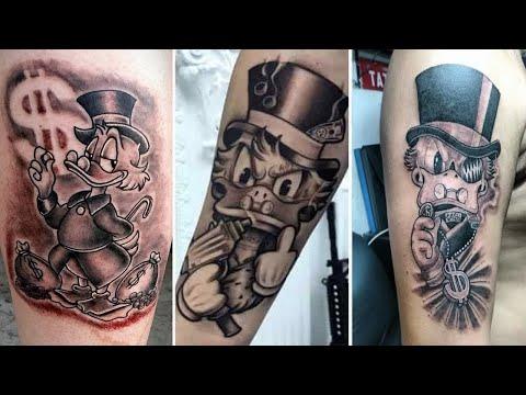 Tatuagem Tio Patinhas As 23 Melhores Do Mundo Youtube