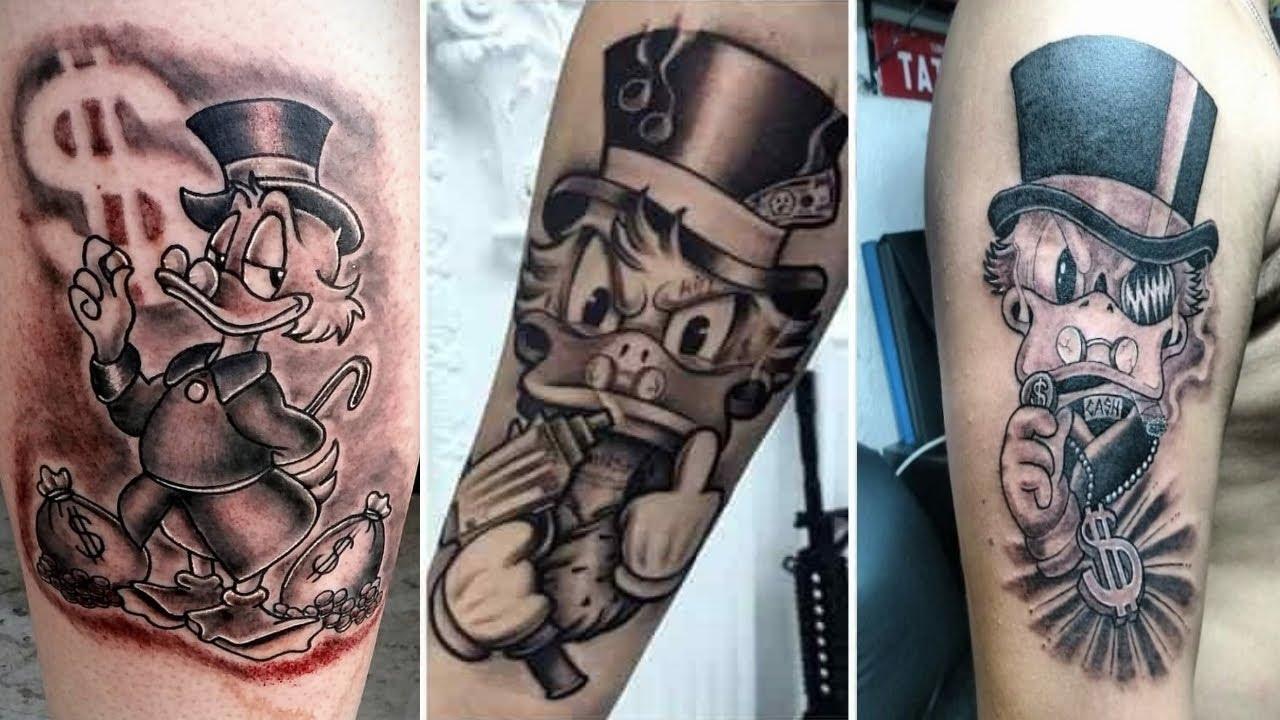 Tatuagem Tio Patinhas As 23 Melhores Do Mundo